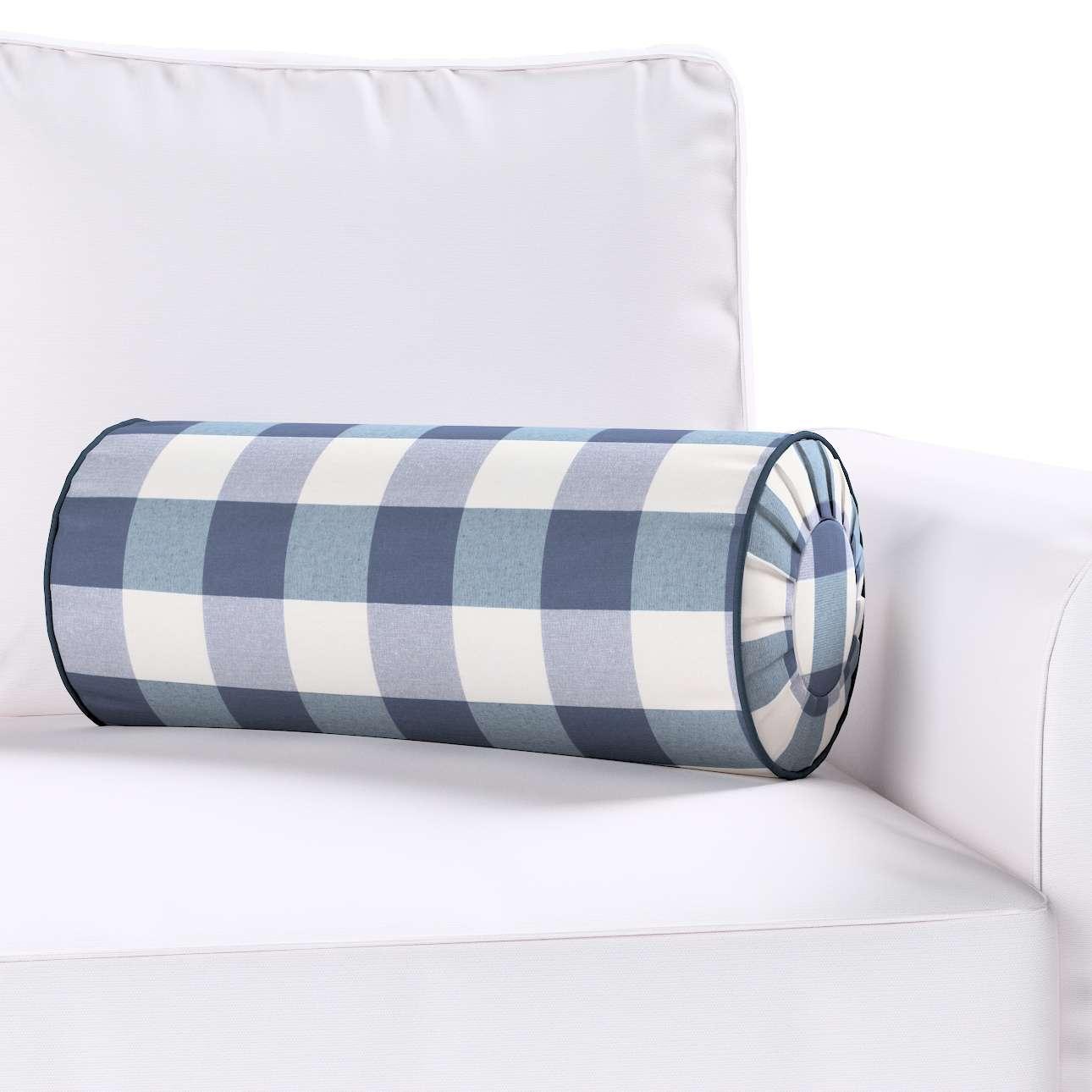 Ritinio formos  pagalvėlė su klostėmis kolekcijoje Quadro, audinys: 136-03