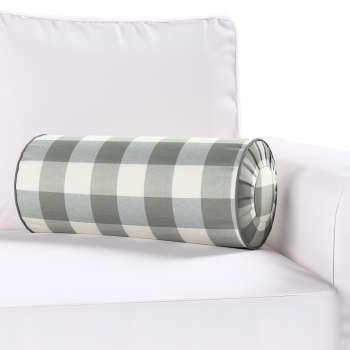 Poduszka wałek z zakładkami Ø 20 x 50 cm w kolekcji Quadro, tkanina: 136-13