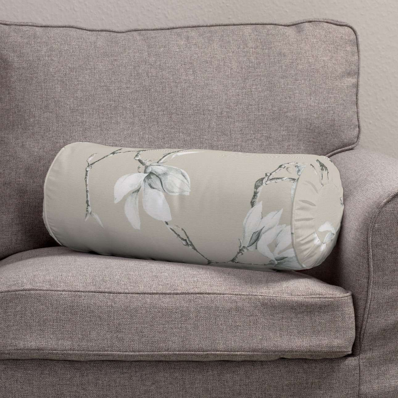 Valček so záložkami Ø 20 x 50 cm V kolekcii Flowers, tkanina: 311-12