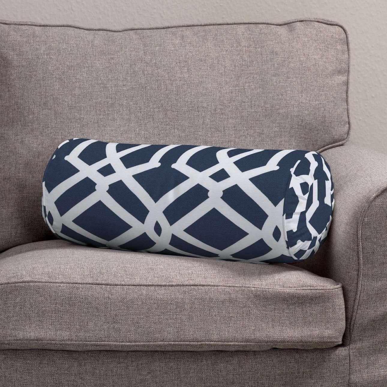 Ritinio formos  pagalvėlė su klostėmis Ø 20 x 50 cm kolekcijoje Comics Prints, audinys: 135-10