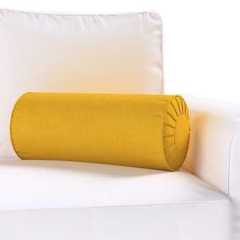 Poduszka wałek z zakładkami Ø 20 x 50 cm w kolekcji Etna , tkanina: 705-04