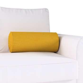 Ritinio formos  pagalvėlė su klostėmis Ø 20 x 50 cm kolekcijoje Etna , audinys: 705-04