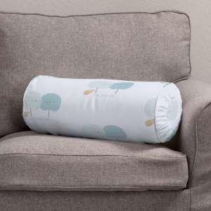 Ritinio formos  pagalvėlės užvalkalas su klostėmis Ø 20 x 50 cm kolekcijoje Apanona, audinys: 151-02