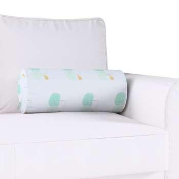 Poduszka wałek z zakładkami w kolekcji Apanona do -50%, tkanina: 151-02