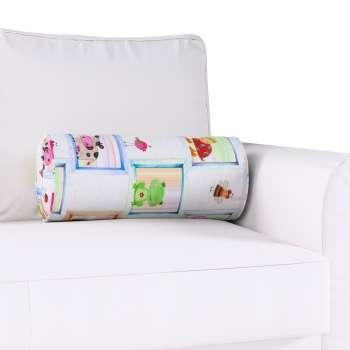 Poduszka wałek z zakładkami w kolekcji Apanona do -50%, tkanina: 151-04