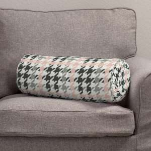 Ritinio formos  pagalvėlės užvalkalas su klostėmis Ø 20 x 50 cm kolekcijoje Brooklyn, audinys: 137-75