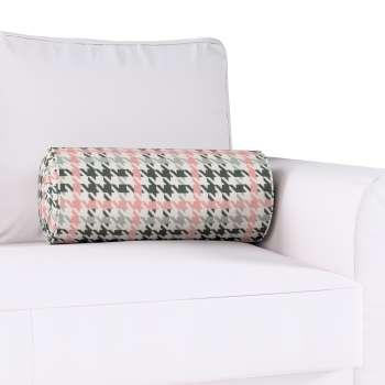 Poduszka wałek z zakładkami Ø20x50cm w kolekcji Brooklyn, tkanina: 137-75
