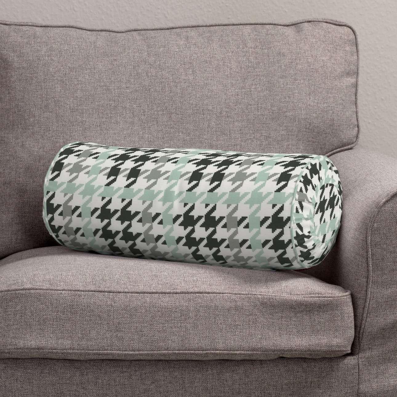 Poduszka wałek z zakładkami w kolekcji do -50%, tkanina: 137-77