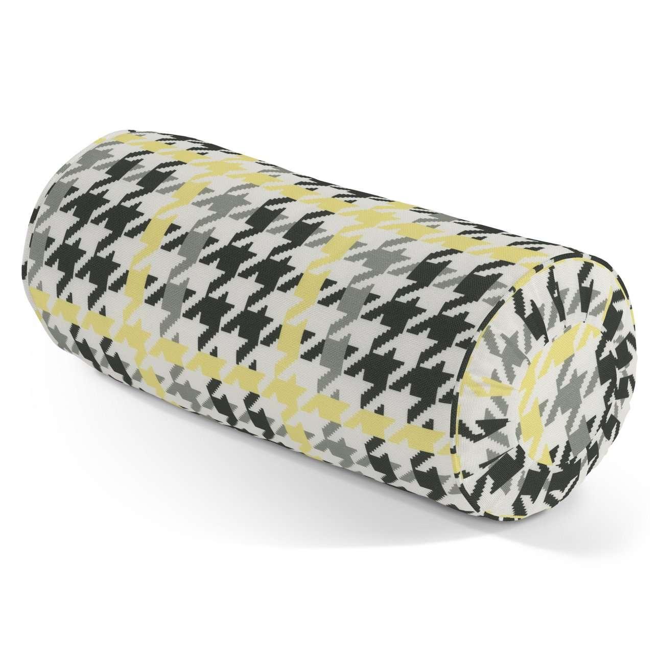 Ritinio formos  pagalvėlė su klostėmis Ø 20 x 50 cm kolekcijoje Brooklyn, audinys: 137-79
