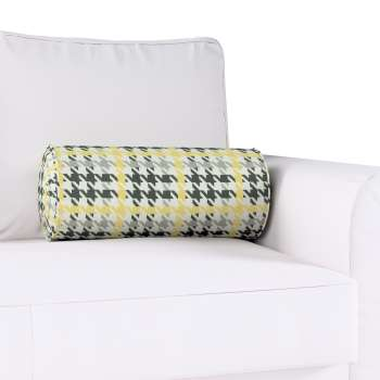 Bolster cushion with pleats in collection Brooklyn, fabric: 137-79