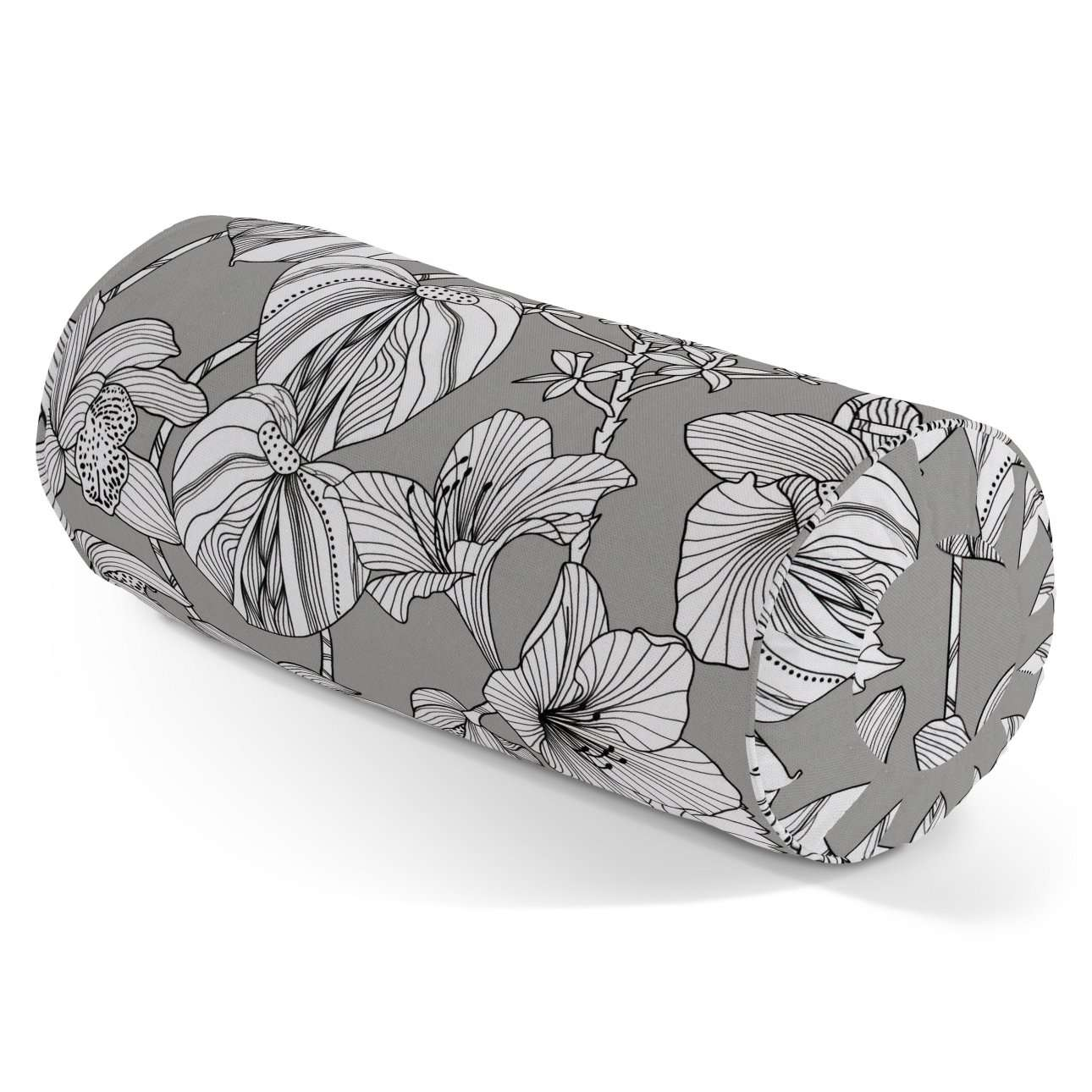 Bolster cushion with pleats in collection Brooklyn, fabric: 137-80