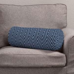 Ritinio formos  pagalvėlės užvalkalas su klostėmis Ø 20 x 50 cm kolekcijoje Brooklyn, audinys: 137-88