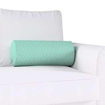 Poduszka wałek z zakładkami w kolekcji Brooklyn, tkanina: 137-90