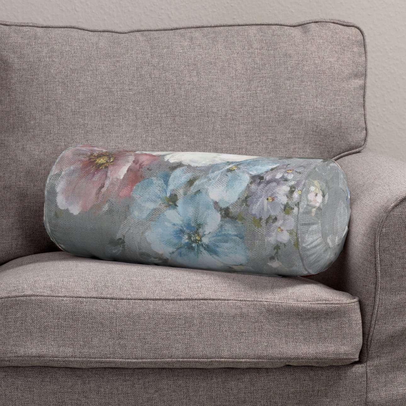 Wałek z zakładkami Ø 20 x 50 cm w kolekcji Monet, tkanina: 137-81