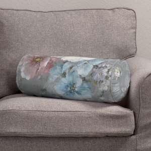 Ritinio formos  pagalvėlė su klostėmis Ø 20 x 50 cm kolekcijoje Monet, audinys: 137-81
