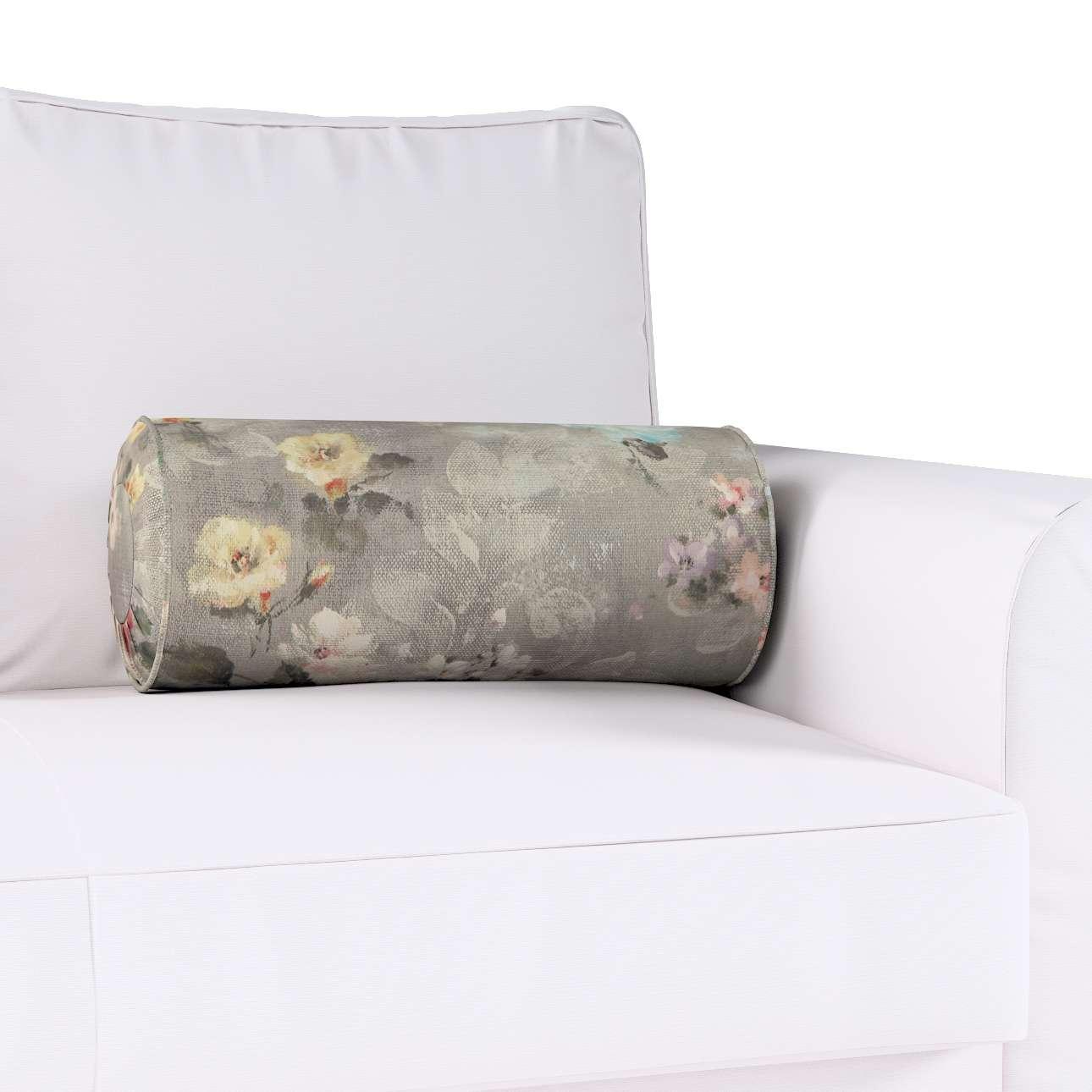 Poduszka wałek z zakładkami w kolekcji Monet, tkanina: 137-81
