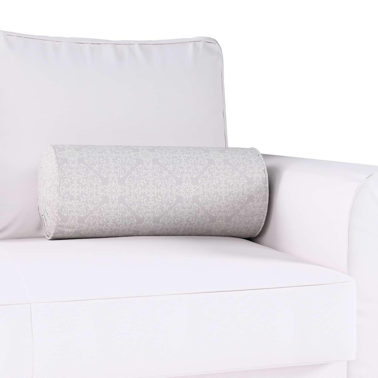 Poduszka wałek z zakładkami w kolekcji Flowers, tkanina: 140-38