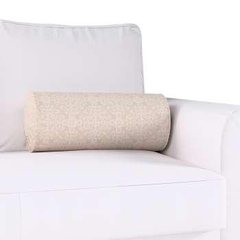Poduszka wałek z zakładkami w kolekcji Flowers, tkanina: 140-39