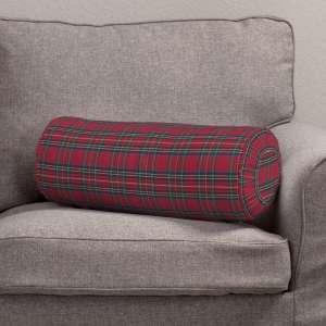 Ritinio formos  pagalvėlės užvalkalas su klostėmis Ø 20 x 50 cm kolekcijoje Bristol, audinys: 126-29