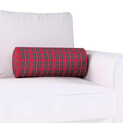 Poduszka wałek z zakładkami w kolekcji Bristol, tkanina: 126-29