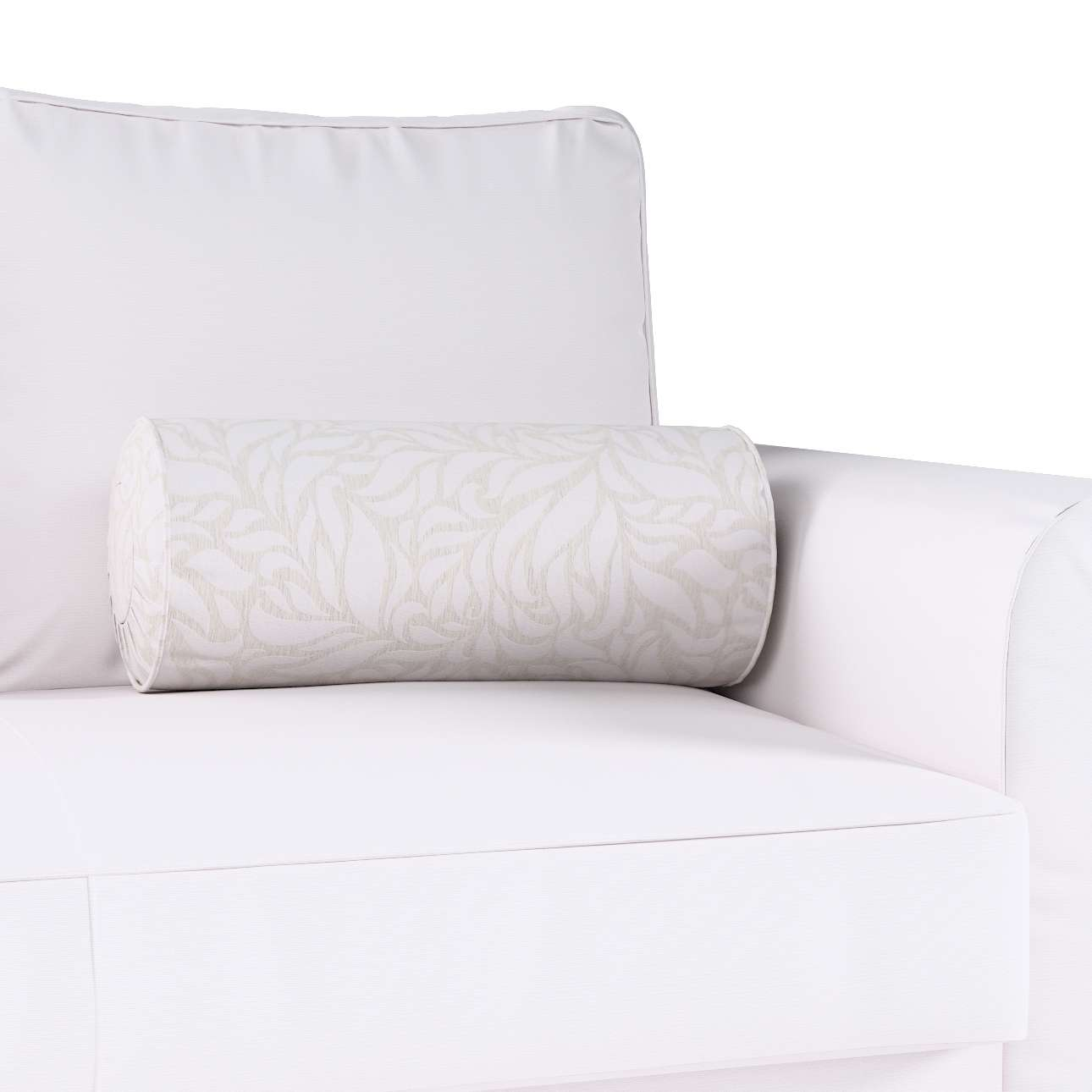 Bolster cushion with pleats in collection Venice, fabric: 140-50