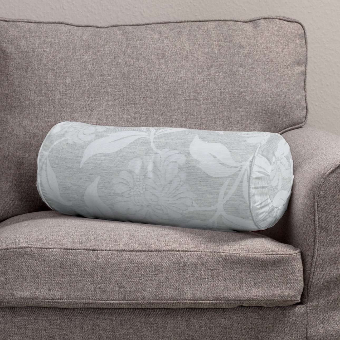 Bolster cushion with pleats in collection Venice, fabric: 140-51