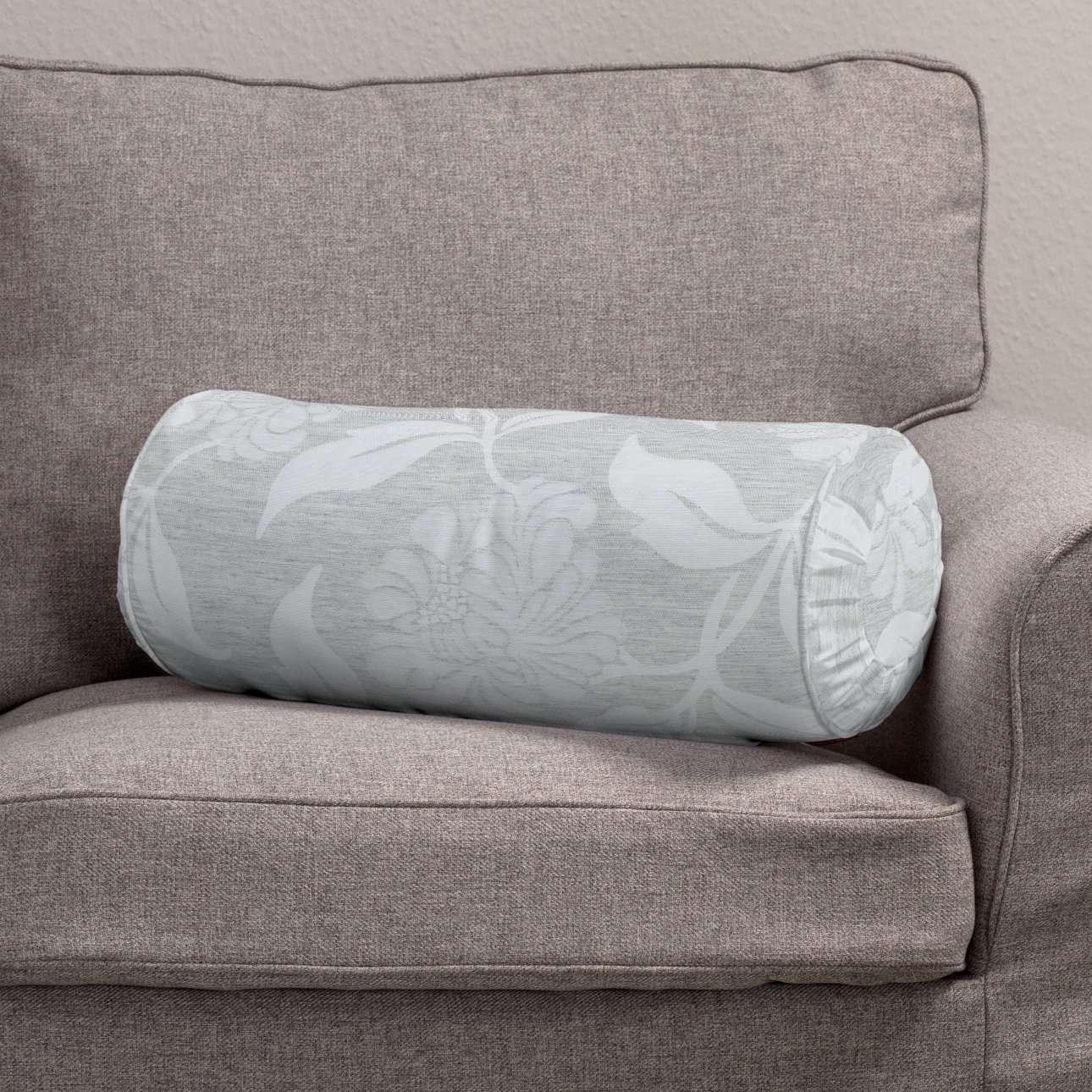 Ritinio formos  pagalvėlė su klostėmis Ø 20 x 50 cm kolekcijoje Venice, audinys: 140-51