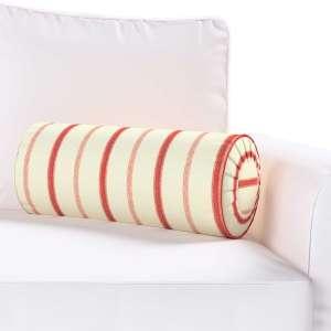Ritinio formos  pagalvėlės užvalkalas su klostėmis Ø 20 x 50 cm kolekcijoje Avinon, audinys: 129-15