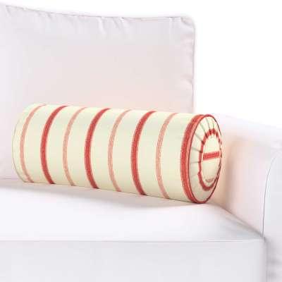 Poduszka wałek z zakładkami w kolekcji Avinon, tkanina: 129-15