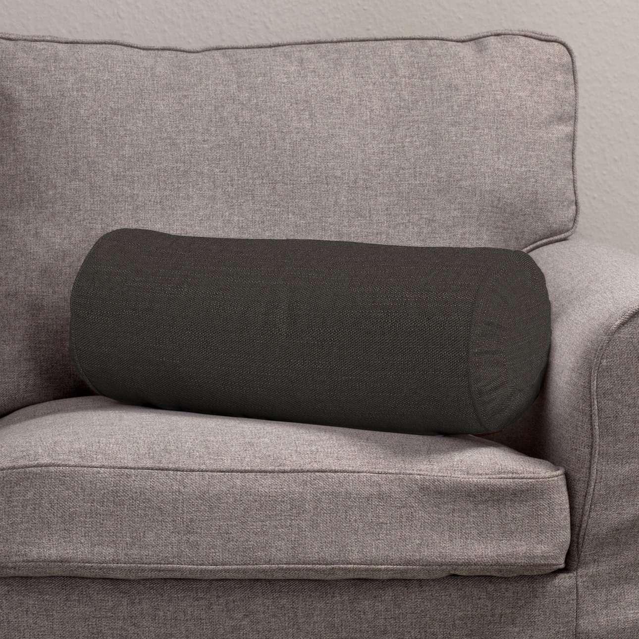 Ritinio formos  pagalvėlė su klostėmis Ø 20 x 50 cm kolekcijoje Vintage, audinys: 702-36