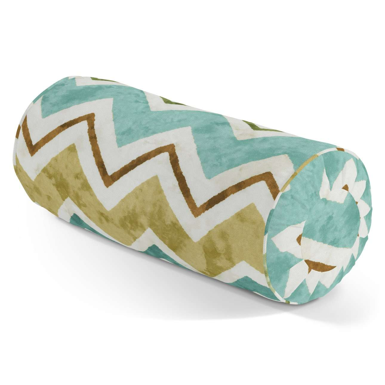 Bolster cushion with pleats in collection Acapulco, fabric: 141-41