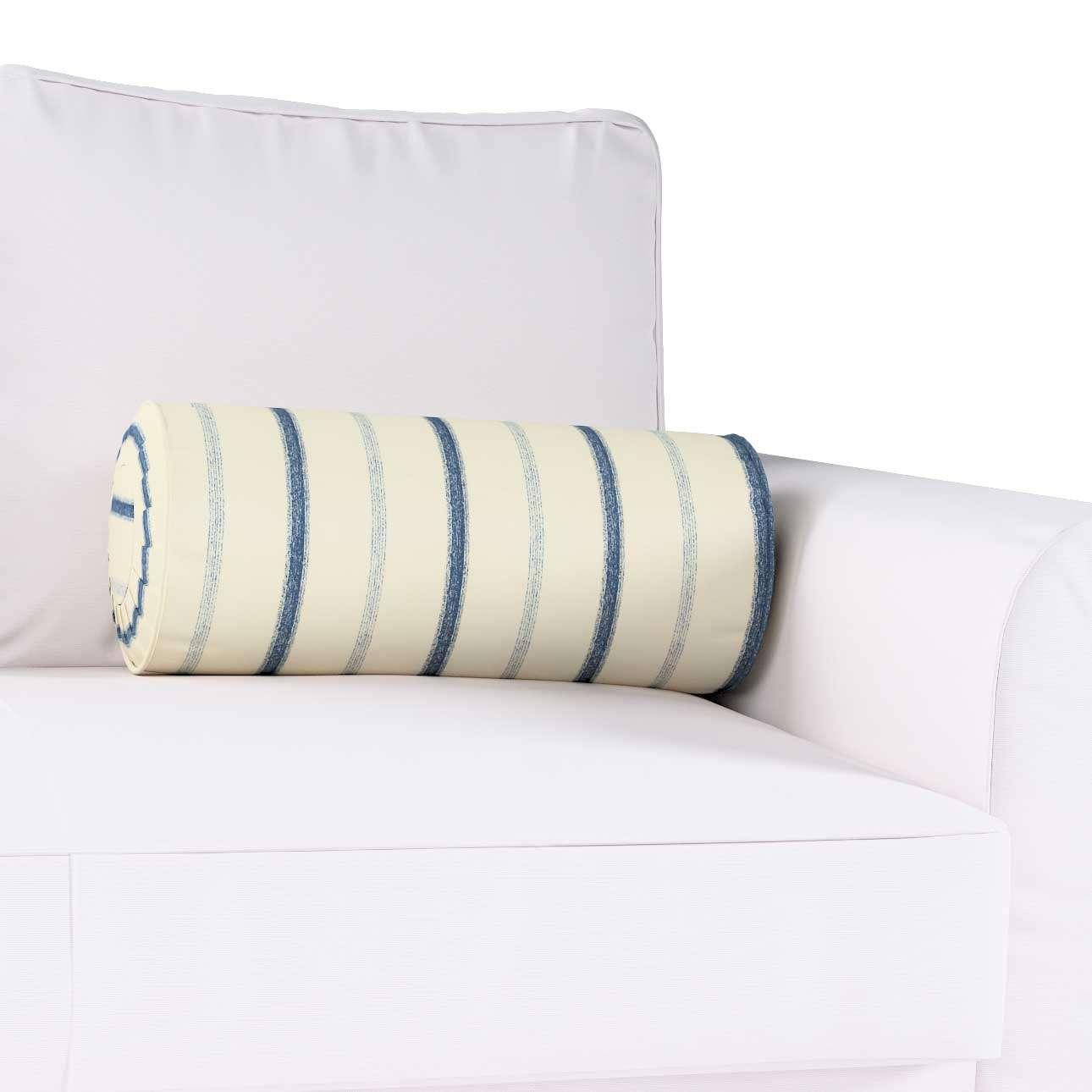 Ritinio formos  pagalvėlė su klostėmis Ø 20 x 50 cm kolekcijoje Avinon, audinys: 129-66