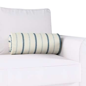 Poduszka wałek z zakładkami w kolekcji Avinon, tkanina: 129-66