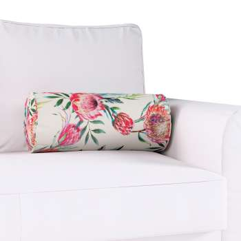 Bolster cushion with pleats in collection New Art, fabric: 141-59