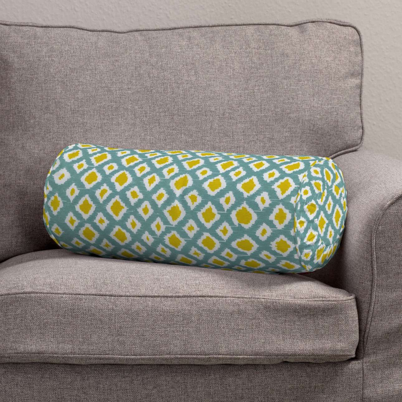 Bolster cushion with pleats in collection Comics/Geometrical, fabric: 141-20