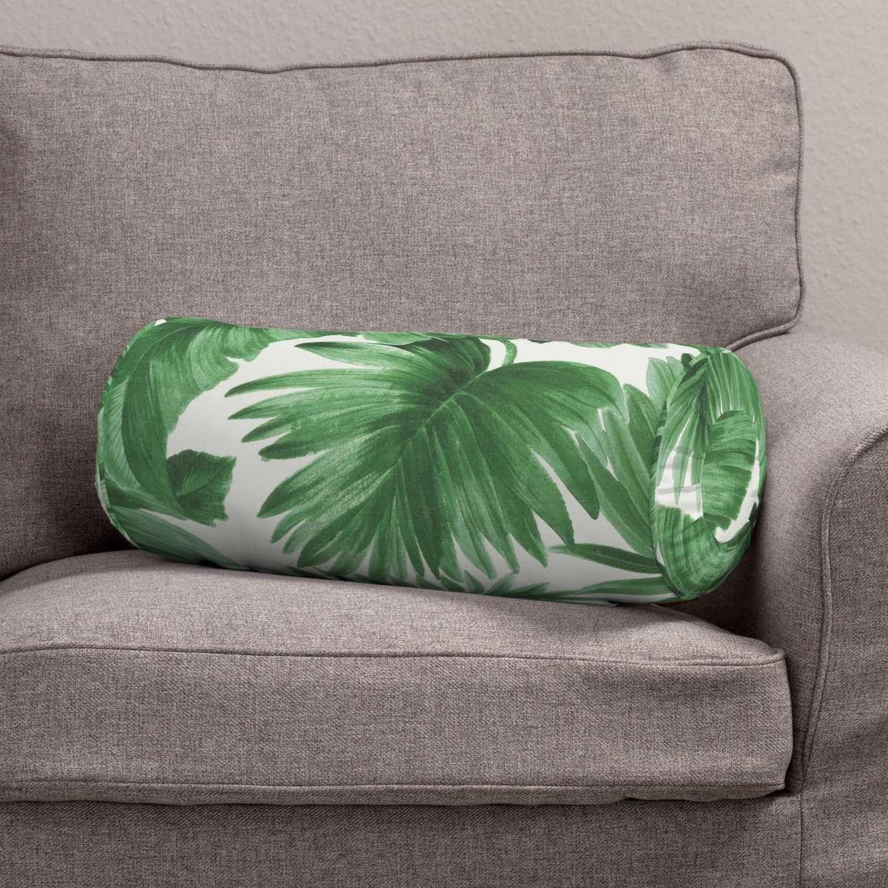 Poduszka wałek z zakładkami w kolekcji Tropical Island, tkanina: 141-71