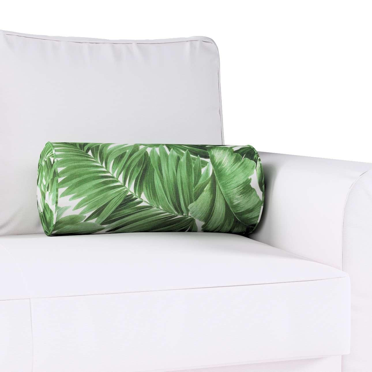 Poduszka wałek z zakładkami w kolekcji Urban Jungle, tkanina: 141-71