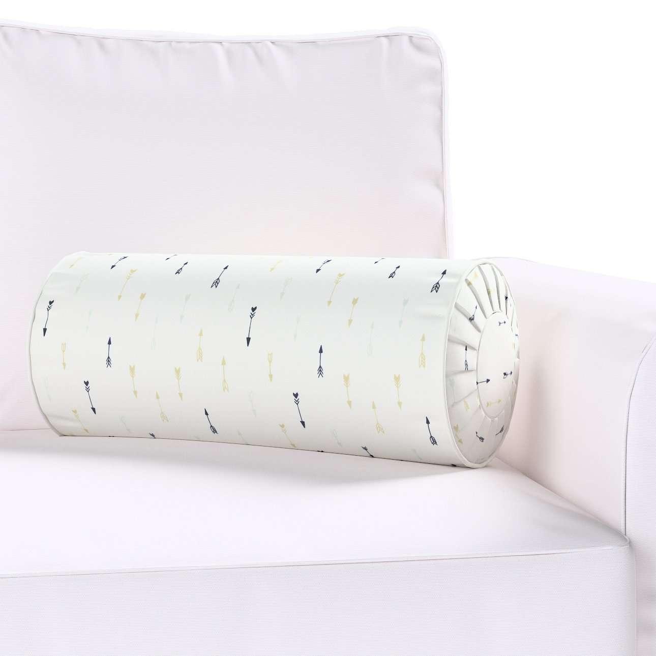 Poduszka wałek z zakładkami w kolekcji Adventure, tkanina: 141-82