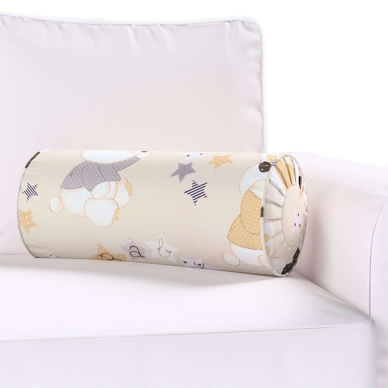 Poduszka wałek z zakładkami w kolekcji Adventure, tkanina: 141-85