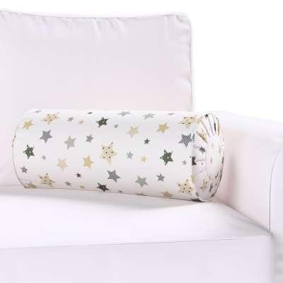 Poduszka wałek z zakładkami w kolekcji Adventure, tkanina: 141-86