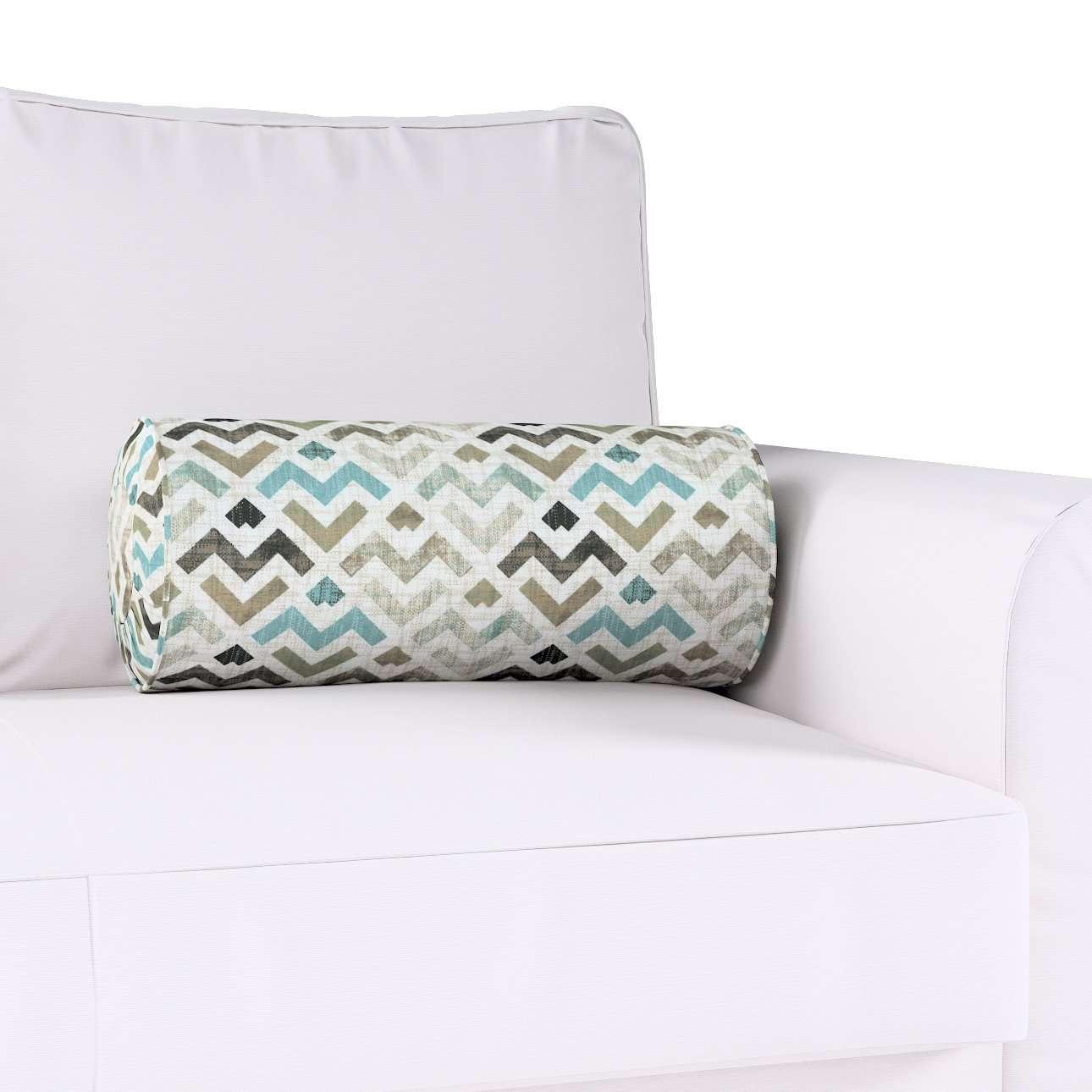 Poduszka wałek z zakładkami w kolekcji Modern, tkanina: 141-93