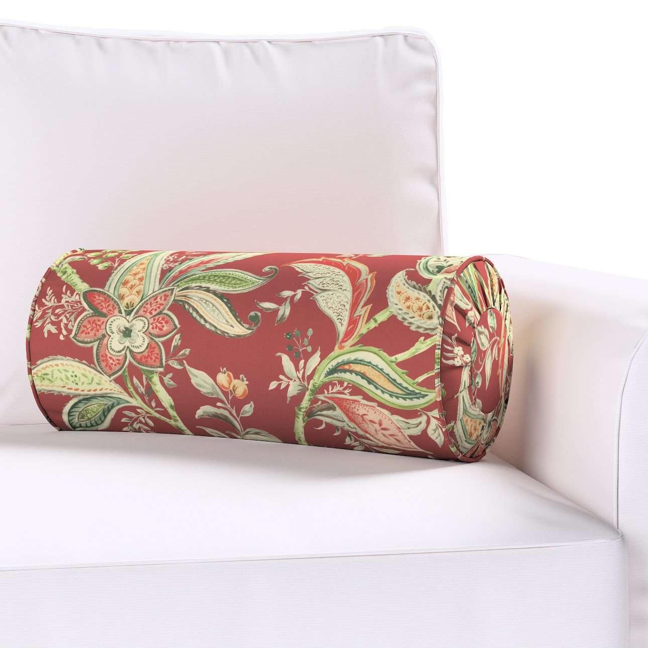 Nakkepude med folder fra kollektionen Gardenia, Stof: 142-12