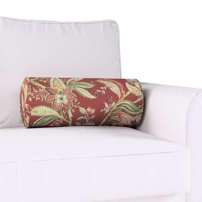 Poduszka wałek z zakładkami w kolekcji Gardenia, tkanina: 142-12