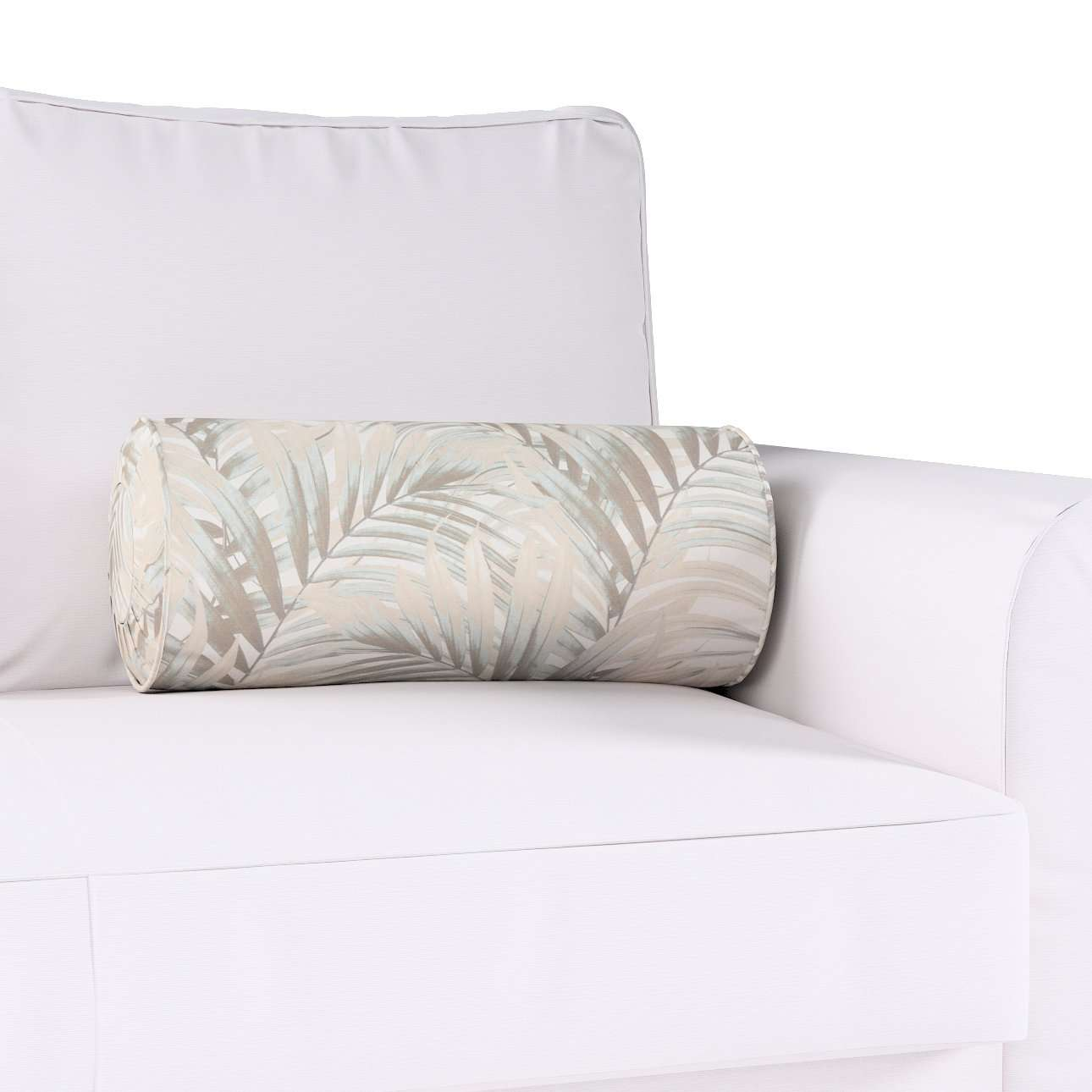 Bolster cushion with pleats in collection Gardenia, fabric: 142-14