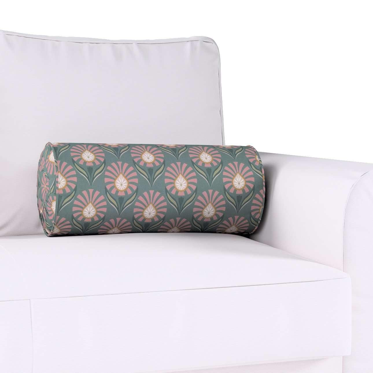Poduszka wałek z zakładkami w kolekcji Gardenia, tkanina: 142-17