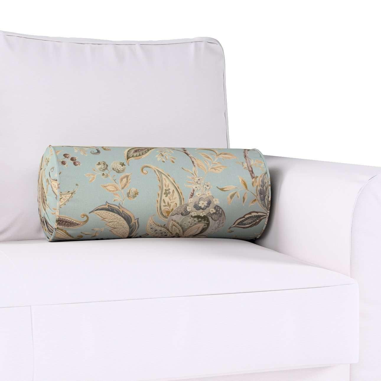 Poduszka wałek z zakładkami w kolekcji Gardenia, tkanina: 142-18