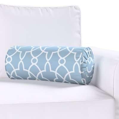 Poduszka wałek z zakładkami w kolekcji Gardenia, tkanina: 142-22
