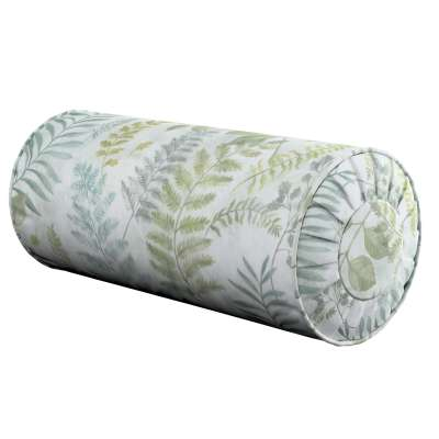 Bolster cushion with pleats 142-46 green Collection Pastel Forest