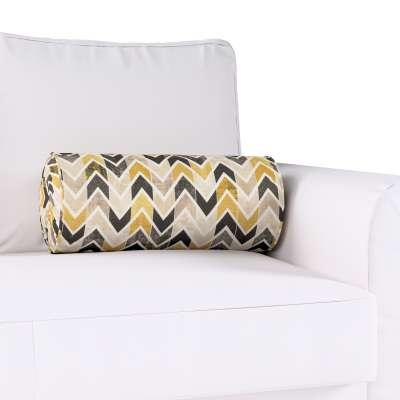 Poduszka wałek z zakładkami w kolekcji Modern, tkanina: 142-79