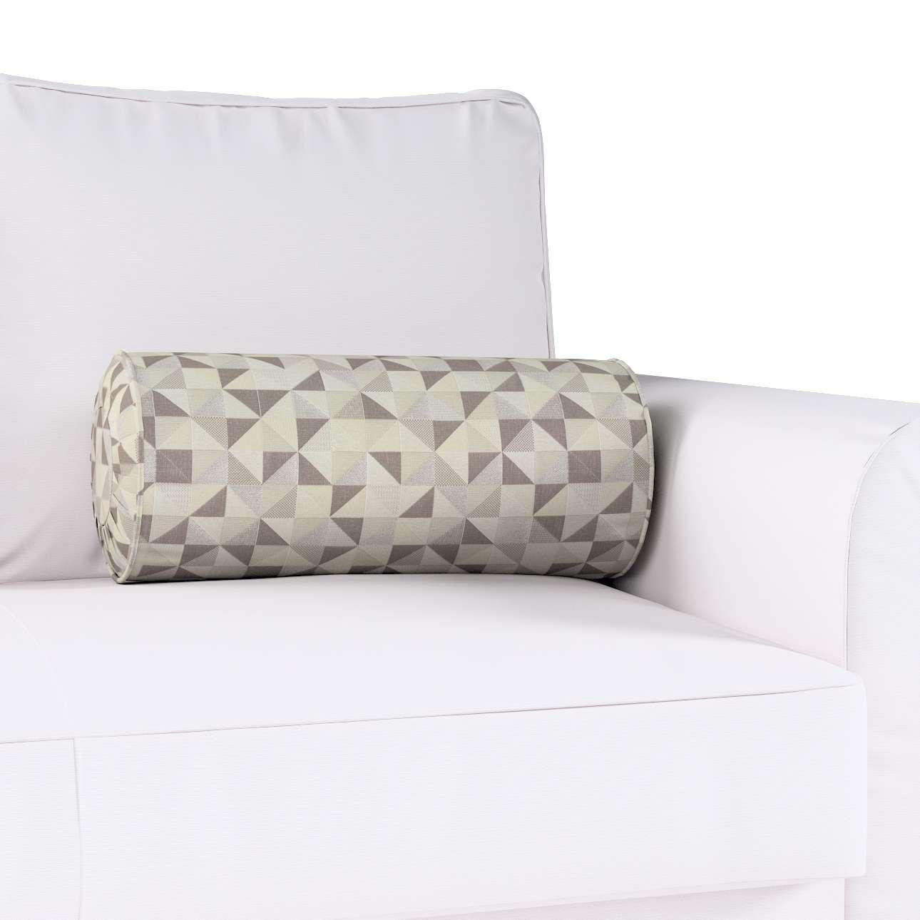 Poduszka wałek z zakładkami w kolekcji Retro Glam, tkanina: 142-85